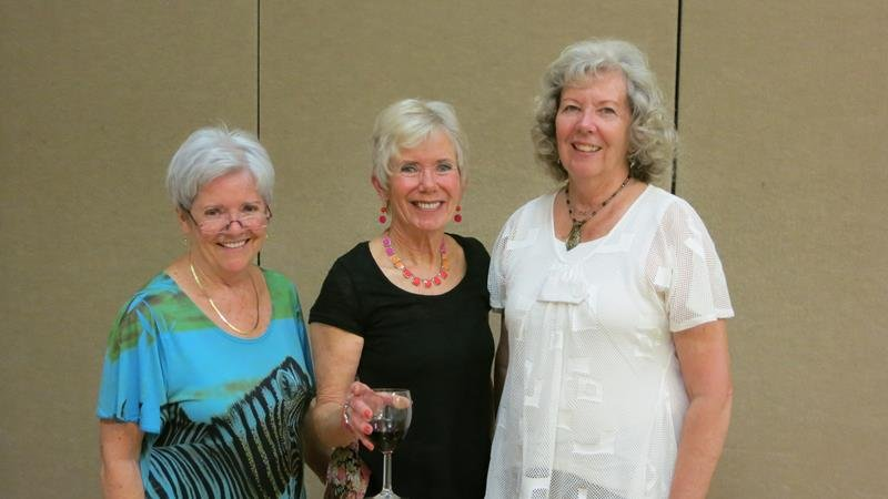 Our Wonderful Party Planners-Maureen, Mary & Jan