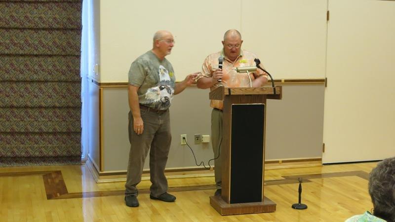 Co-Presidents Bo Wilkinson & Art Nelson