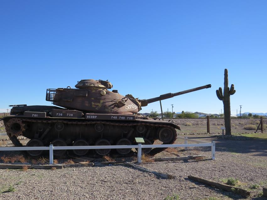 Bouse Memorial WWII Tank