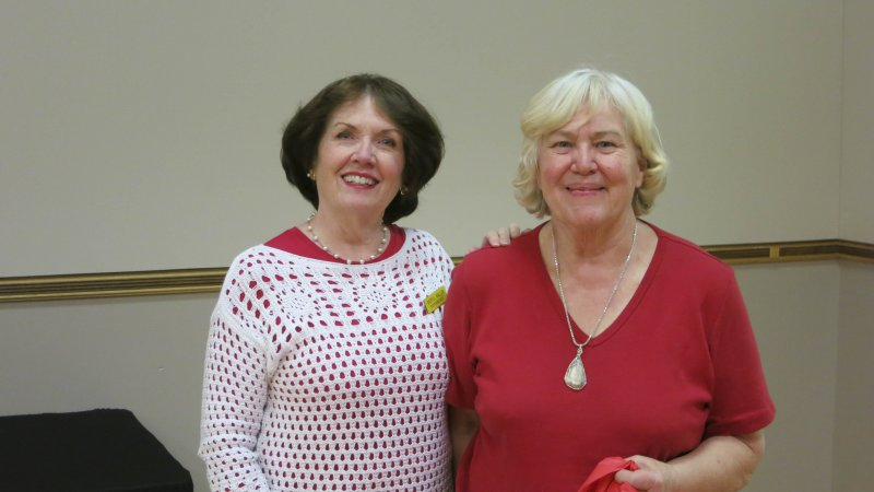 Sherll Wallen & Eileen Nelson
