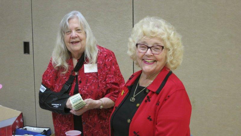Mary Hagy & Connie Rau